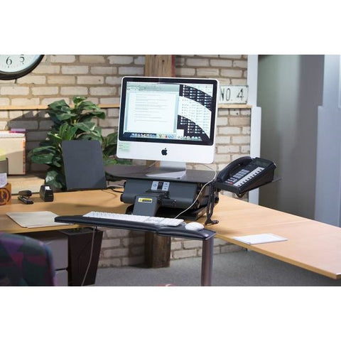 Charmant ... Healthpostures 6100 TaskMate Executive Standing Desk   Health Postures    Standing Desk   Desk Converter ...