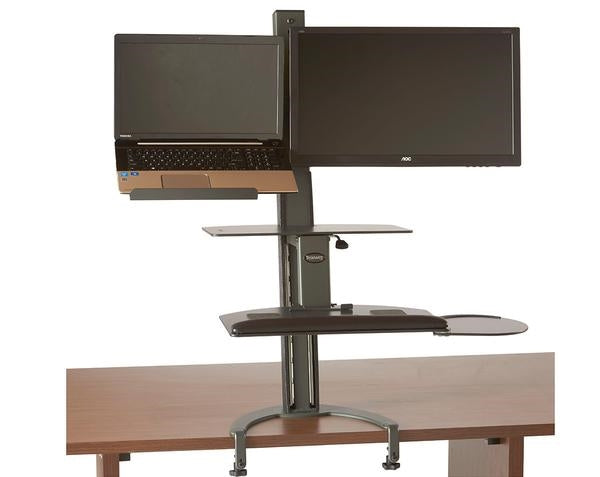HealthPostures 6360 TaskMate Go Laptop Standing Desk -  Health Postures - Standing Desk - Desk Converter