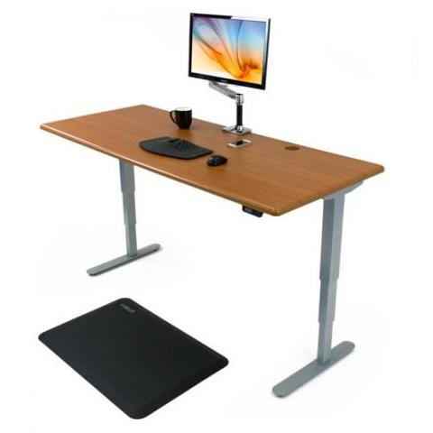 iMovR ThermoDesk Energize Height Adjustable Standing Desk -  iMovR - Standing Desk - Desk Converter