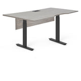 "Standing Health - Unique Furniture Kalmar 63"" Sit-Stand Electric Standing Desk - K6332SS-GREY 
