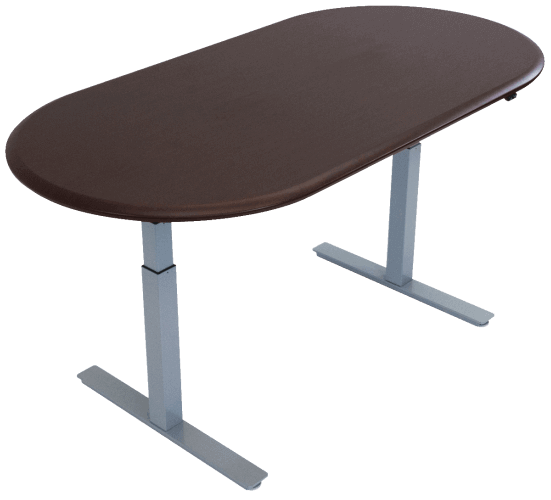 Standing-Health - Synapse Multi-Purpose / Scrum Table - SSb-t3072s-P -  iMovR - Standing Desk - Desk Converter