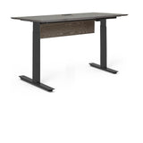 "Unique Furniture - Oslo 52"" Electric Standing Desk - O5230SS-GREY -  Unique Furniture - Standing Desk - Desk Converter"