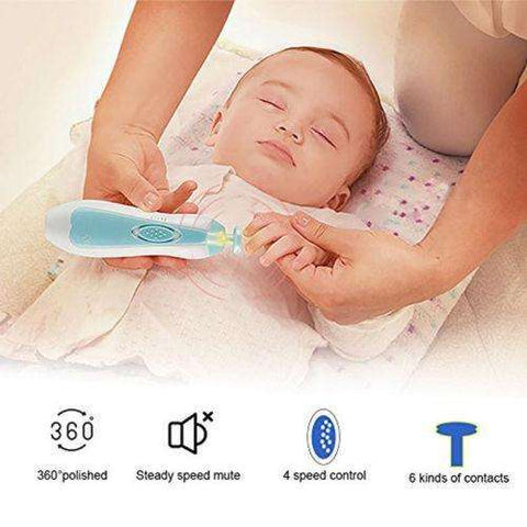 SafeTrim - Baby Painless Automatic Nail Trimmer – Baby Of The House