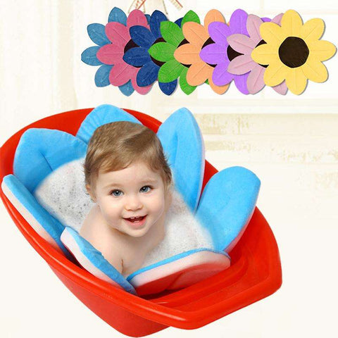 Lotus Flower Foldable Baby Bath Cushion – Baby Of The House