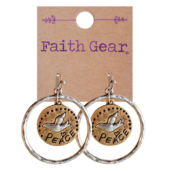 Faith Gear Women's Earrings - Peace