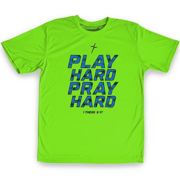 Kerusso Active Play Hard Pray Hard Youth T-Shirt