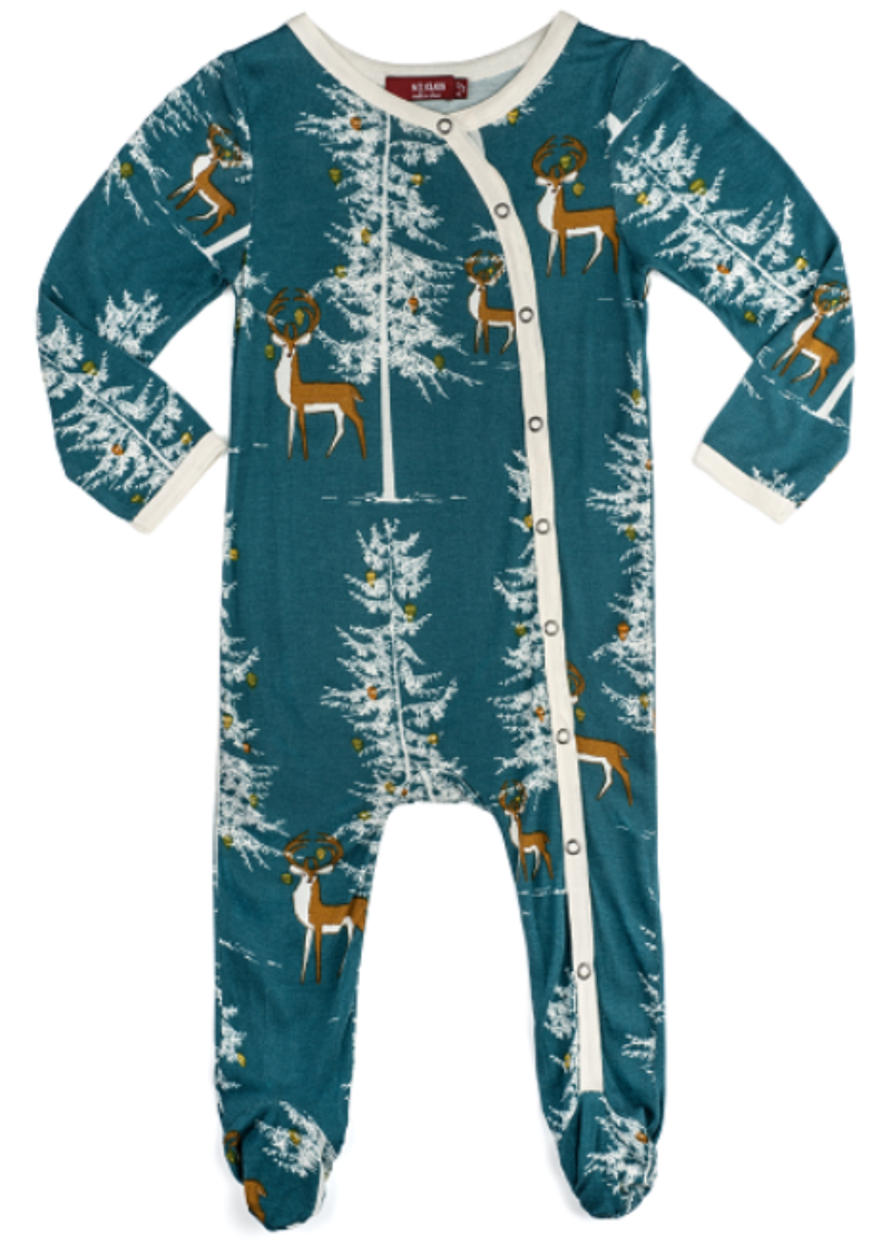 42bcef7ce Winter Buck Bamboo Pajamas (Footed) – trendytotboutique
