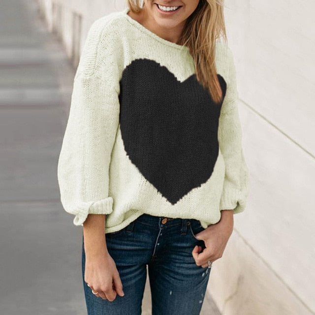 Myhotstuff Heart Sweater