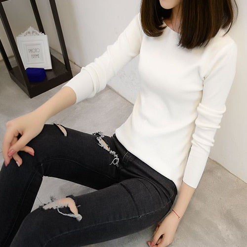 Myhotstuff High Elastic Sweater