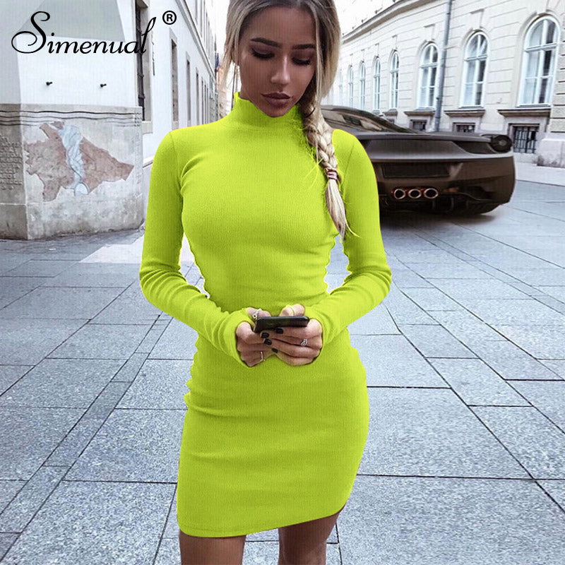 Myhotstuff Sexy Long Sleeve Mini Dress
