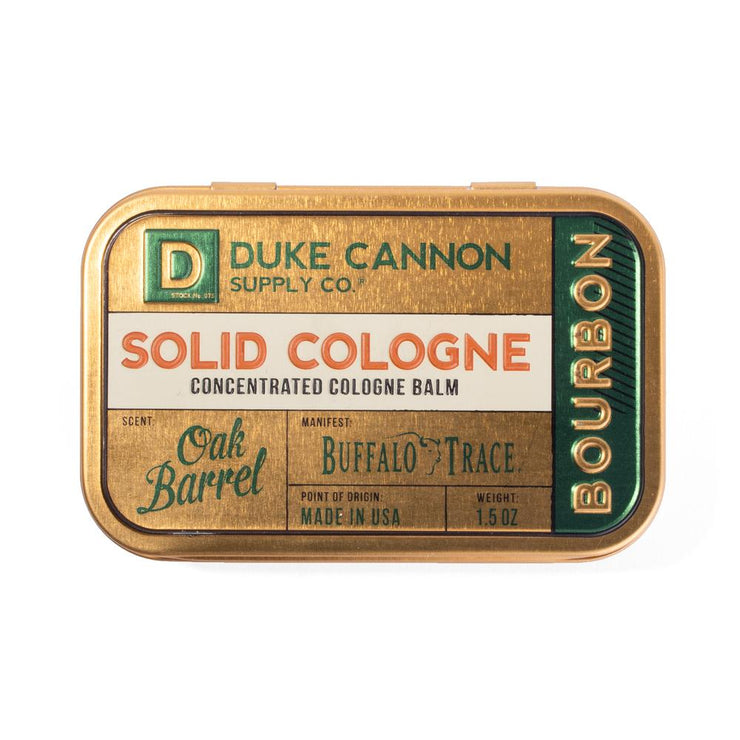 Duke Cannon Solid Cologne Bourbon