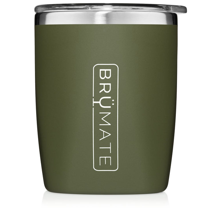 BRUMATE ROCKS GLASS OD GREEN