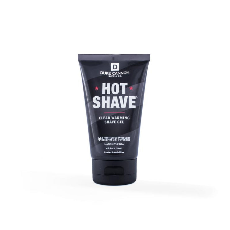 DUKE CANNON HOT SHAVE - CLEAR SHAVE GEL