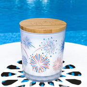 Fireworks Fourth of July Candle