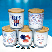 4th of July Collection Candles