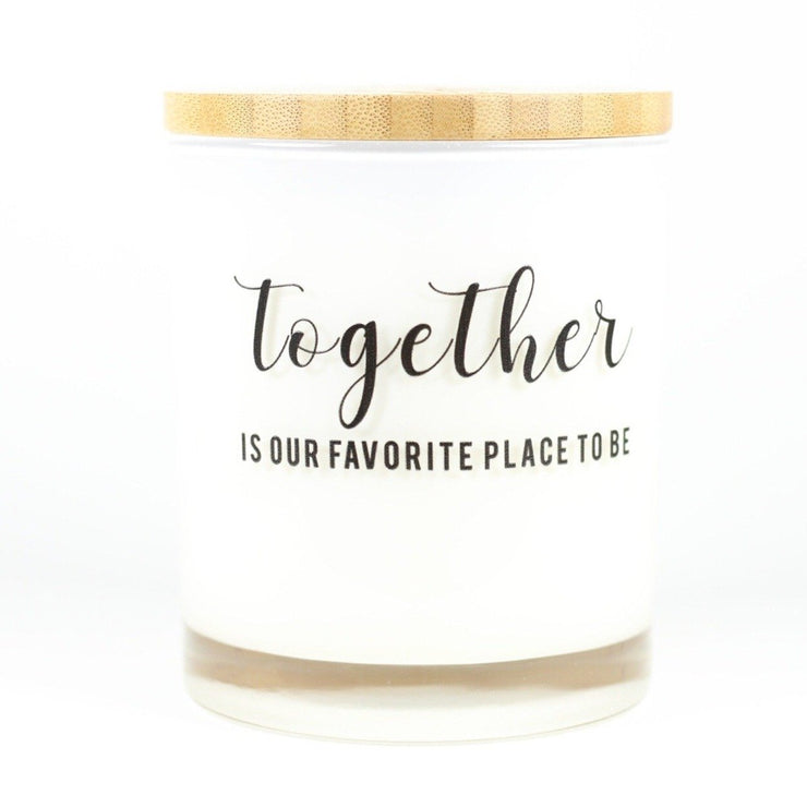 Together is Our Favorite Place to Be Candle