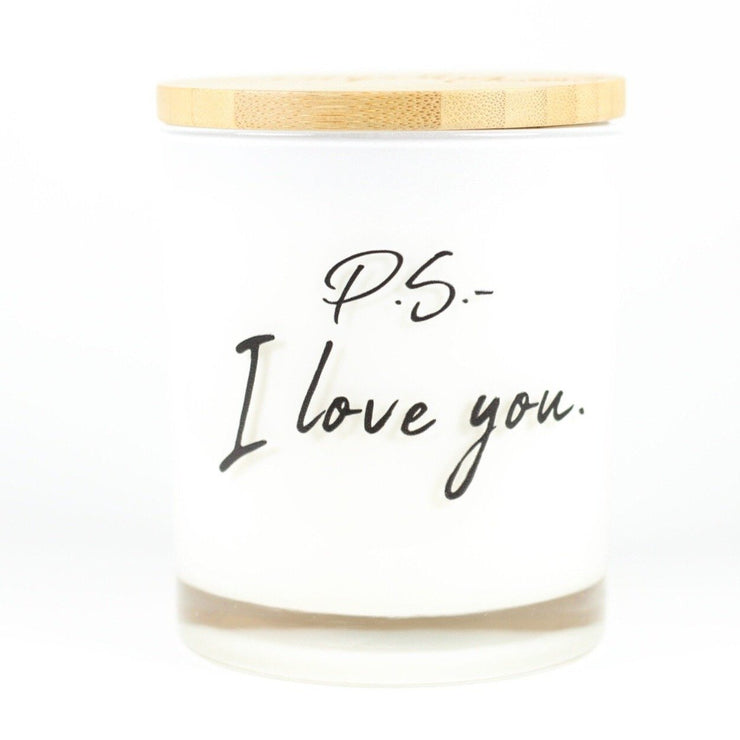 PS I love you candle