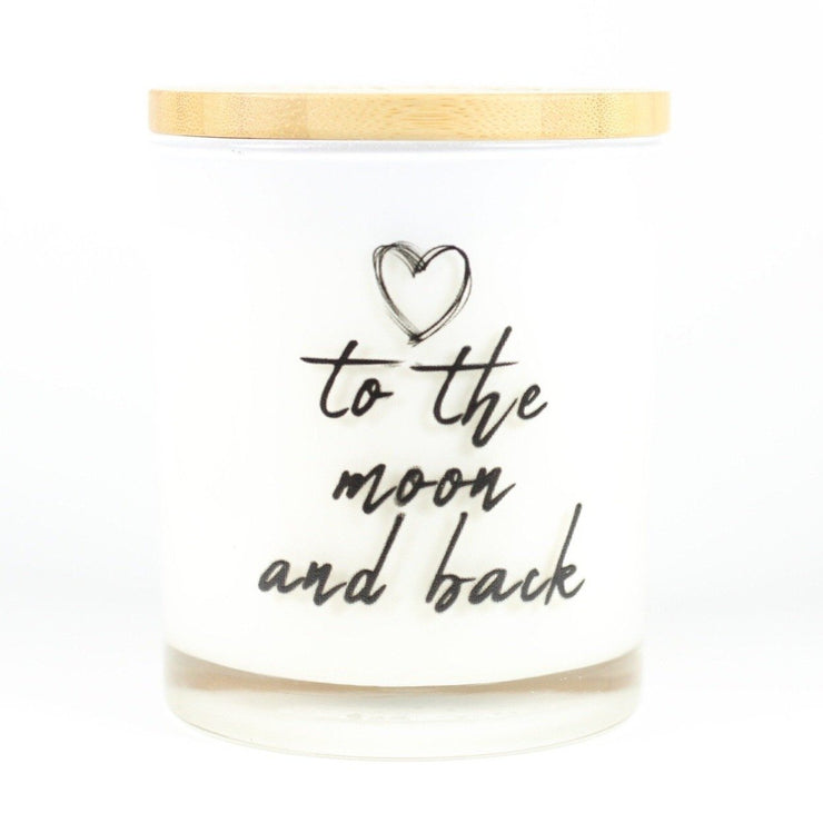 To The Moon and Back Candle