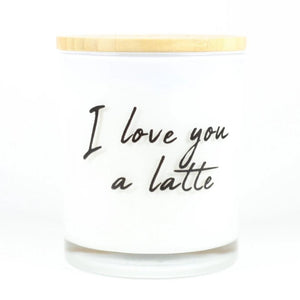 I LOVE YOU LATTE CANDLE