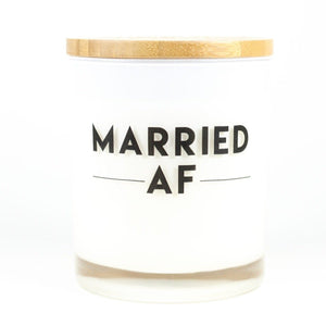 MARRIED AF CANDLE