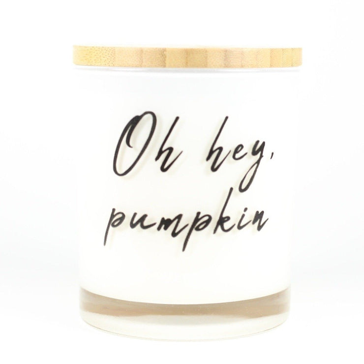 Oh Hey, Pumpkin Candle