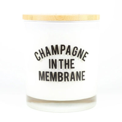 CHAMPAGNE IN THE MEMBRANE CANDLE