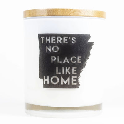 Arkansas State Home Candle
