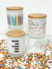 Birthday Collection Candles