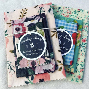 BEESWAX FOOD WRAP BUNDLES (COLOR ASSORTMENTS VARY)