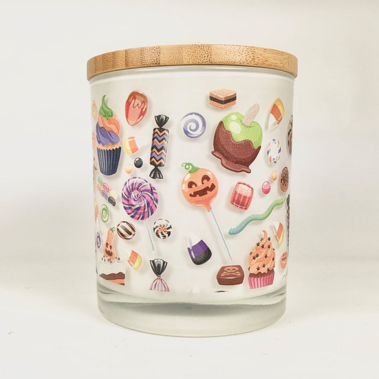 Halloween Candy Candle