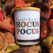 It's Just a Bunch of Hocus Pocus Candle