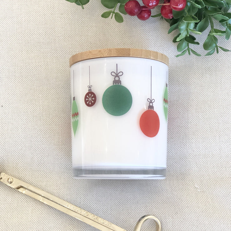 Ornaments Christmas Candle