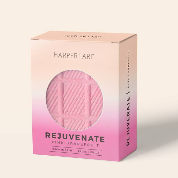 REJUVENATE FUN-SIZE BATH BAR- PINK GRAPEFRUIT