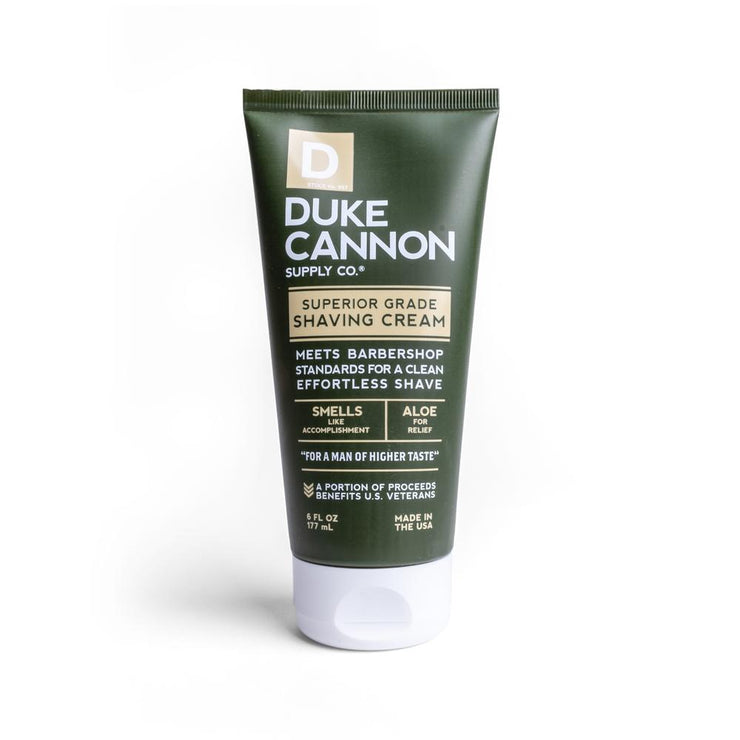 DUKE CANNON HOT SHAVE