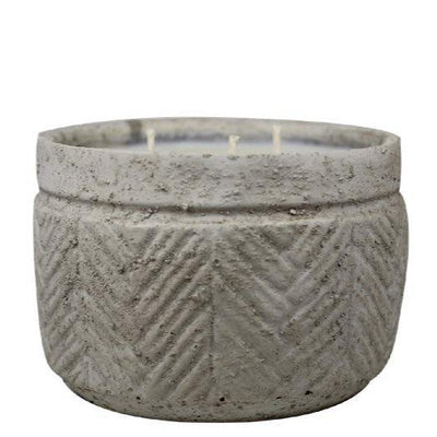 STUCCO CANDLE