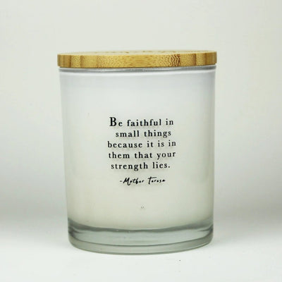 Be Faithful Candle
