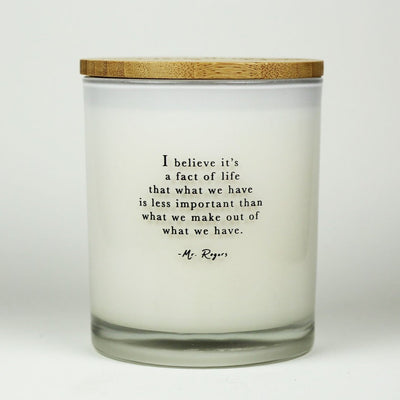 FACT OF LIFE CANDLE