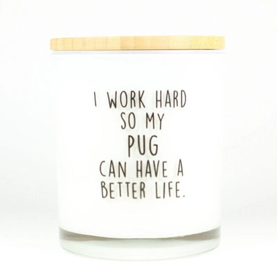 I WORK HARD SO MY PET CAN HAVE A BETTER LIFE- CUSTOMIZE IT!