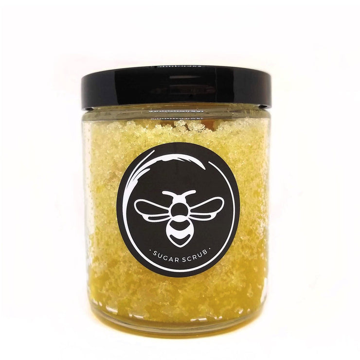 LEMON HONEY SUGAR SCRUB- 9 OZ.