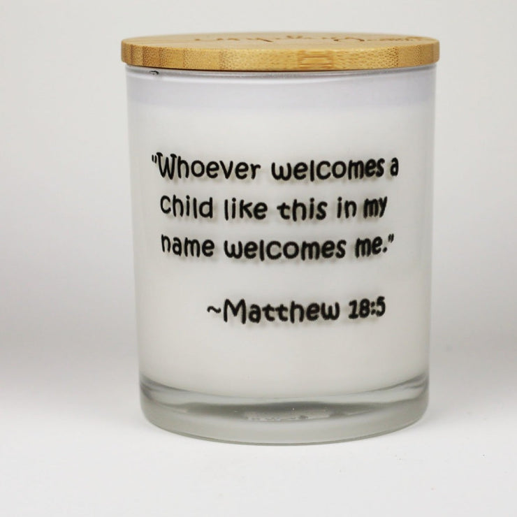 WELCOMES A CHILD CANDLE