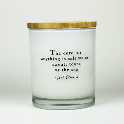 Salt Water Cure Candle