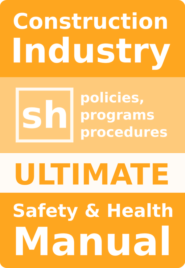 Construction Safety Program Manual, Plan, Policy (Microsoft Word ...