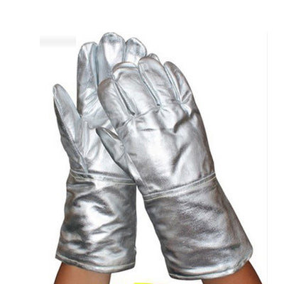 Aluminum Foil Gloves Insulate Heat Radiation Heat Insulation 1000 Degree High Temperature Working Thermal Radiation Glove
