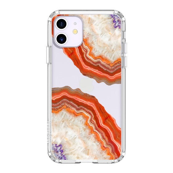 Red Agate Phone Case - iPhone 11 Case