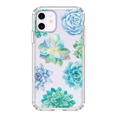 Succulents Plant Phone Case - iPhone 11 Case