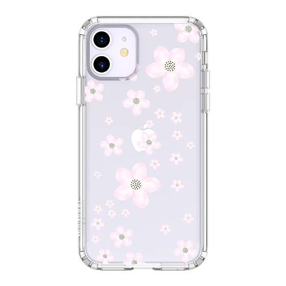 Pink Cherry Blossoms Phone Case - iPhone 11 Case