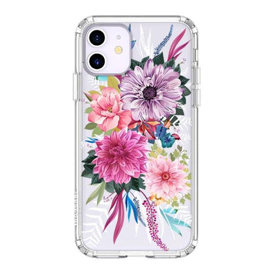 Blossom Floral Flower Phone Case - iPhone 11 Case