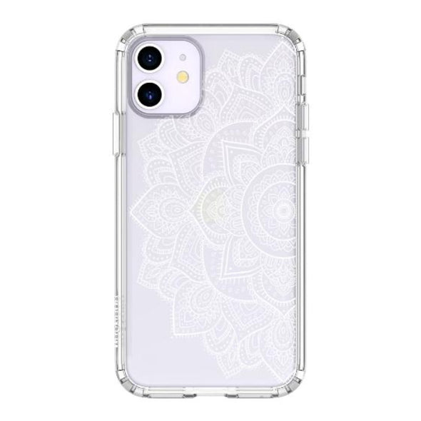Half Mandala Phone Case - iPhone 11 Case