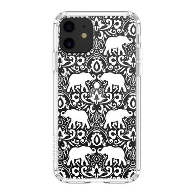 White Elephant Phone Case - iPhone 11 Case