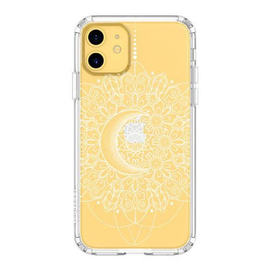Moon Henna Phone Case - iPhone 11 Case